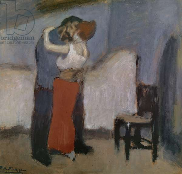 The Rendez-vous, c.1900 (oil on card)