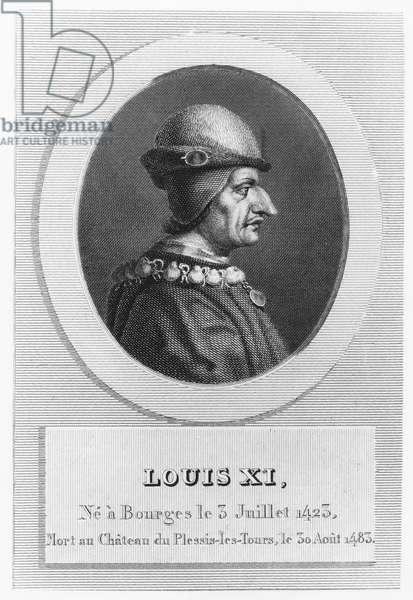 Louis XI, King of France (engraving)