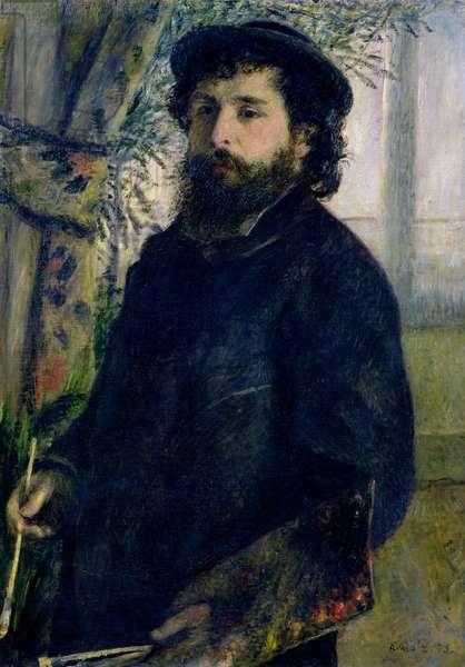 Portrait of Claude Monet (1840-1926) 1875 (oil on canvas)