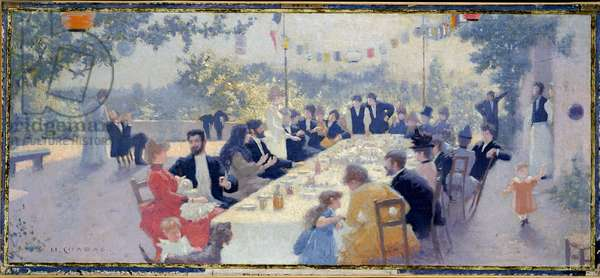 The Wedding Feast, 1888 (oil on canvas)