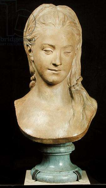 Portrait presumed to be Mary Cathcart, 1768 (plaster)