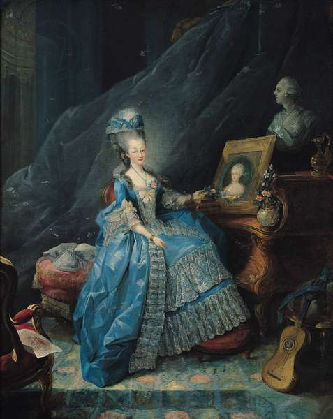 Marie-Therese de Savoie (1756-1805) 1775 (oil on canvas)