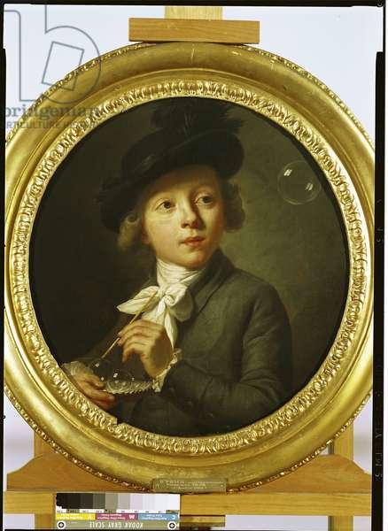 Soap Bubbles, 1784 (oil on canvas)