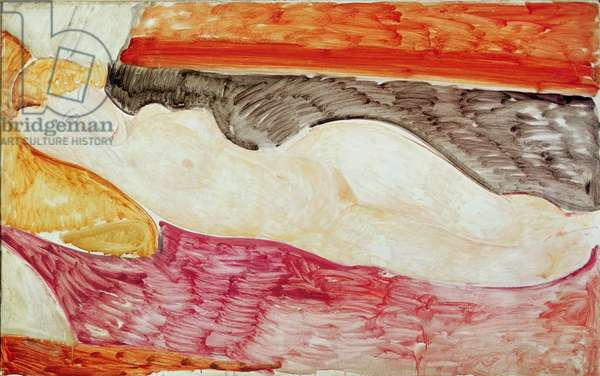 Reclining Nude, 1919 (oil on canvas)
