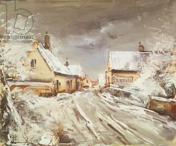 Snow Effect (oil on canvas)