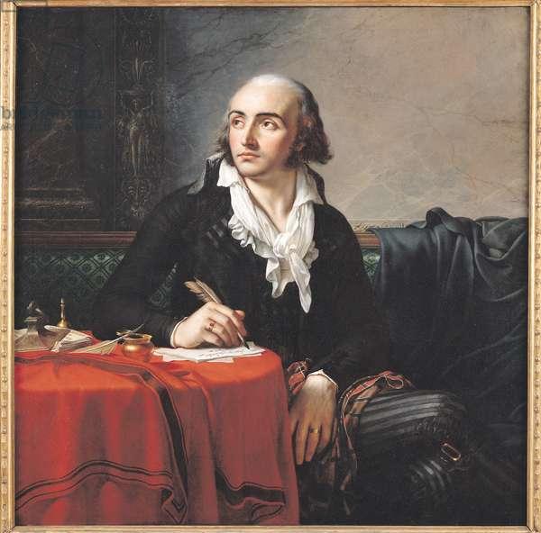 Portrait of Giuseppe Fravega (1763-1833) 1795 (oil on canvas)