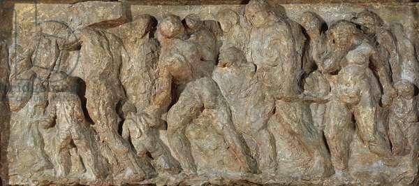 The Emigrants, 1848 (plaster)