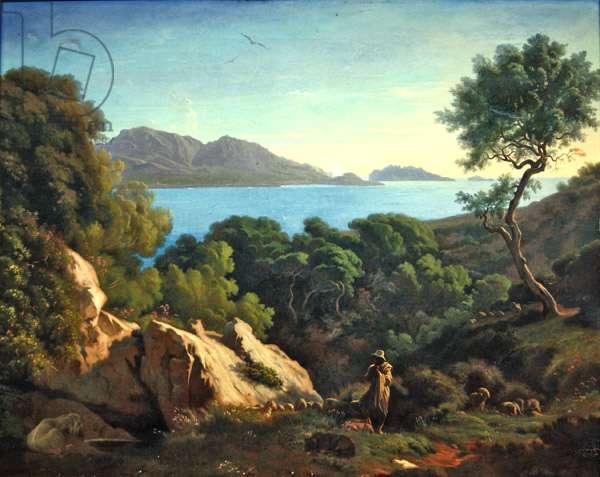 Near Marseille (oil on canvas)
