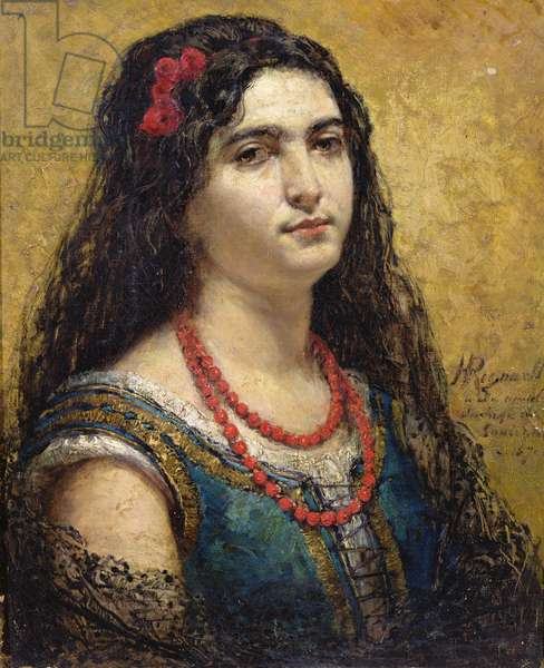 The Spanish Woman, 1870 (oil on canvas)