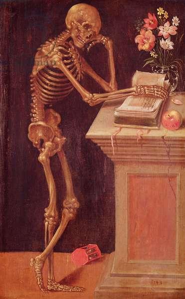 Vanitas, 1543 (oil on panel)