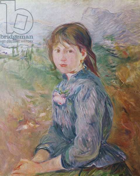 The Little Girl from Nice, 1888-89 (oil on canvas)