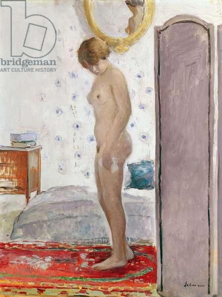 La Toilette (oil on canvas)