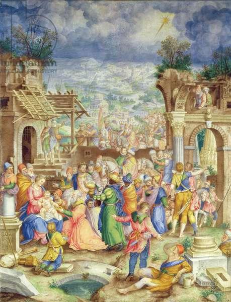 Adoration of the Magi, c.1588 (vellum)