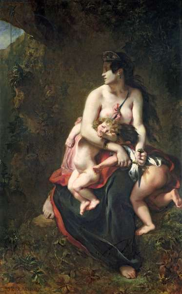 Medea, 1838 (oil on canvas)