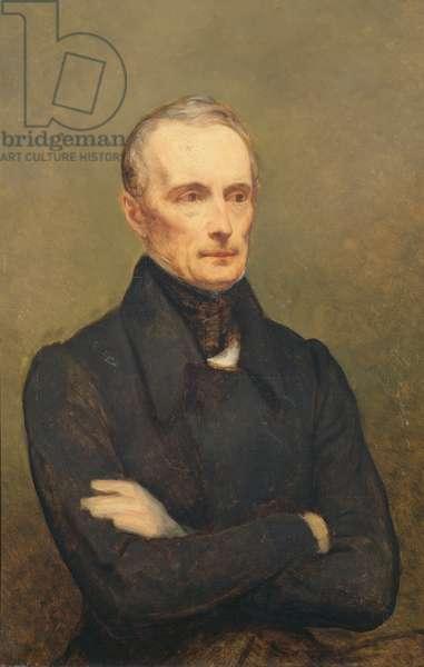 Alphonse de Lamartine (1790-1869) 1847-48 (oil on canvas)