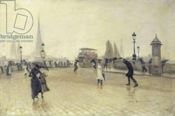 The Pont Corneille, Rouen, 1891 (oil on canvas)