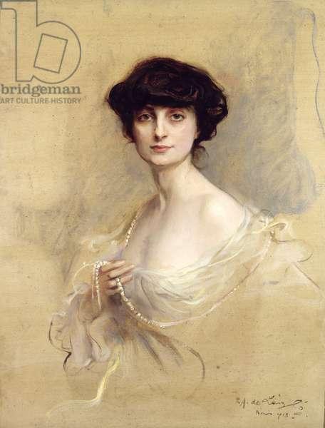 Anna de Noailles (1876-1933) 1913 (oil on canvas)
