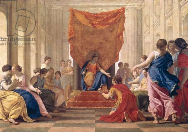 Poliphilus Kneeling before Queen Eleuterylida, c.1643-44 (oil on canvas)