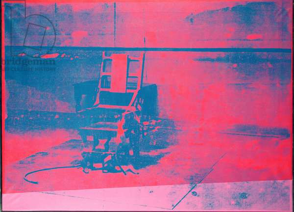 The Electric Chair, 1966 (screenprint)