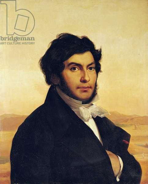 Portrait of Jean-Francois Champollion (1790-1832) 1831 (oil on canvas)
