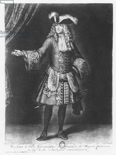 Franz Lefort (engraving)