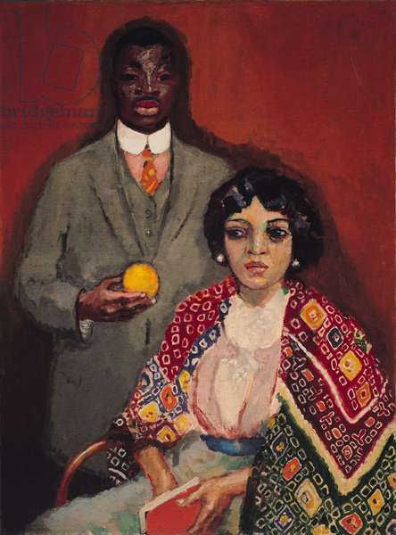 Lucie and Her Partner, 1911 (oil on canvas)
