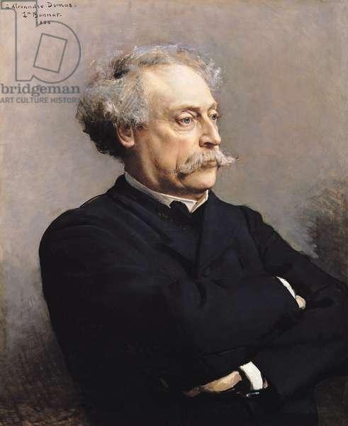 Alexandre Dumas Fils (1824-95) 1886 (oil on canvas)