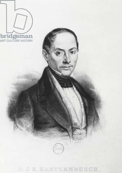 Juan Eugenio Hartzenbusch (engraving)