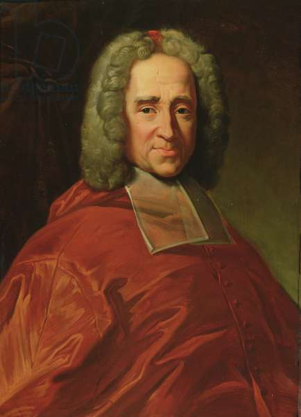 Cardinal Guillaume Dubois (1656-1723) 1837 (oil on canvas)