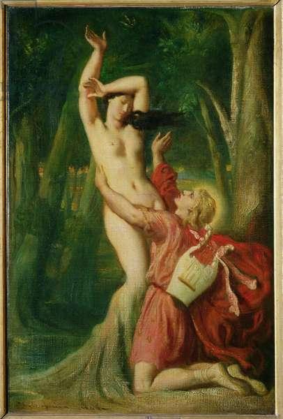 Apollo and Daphne, c.1845 (oil on canvas)