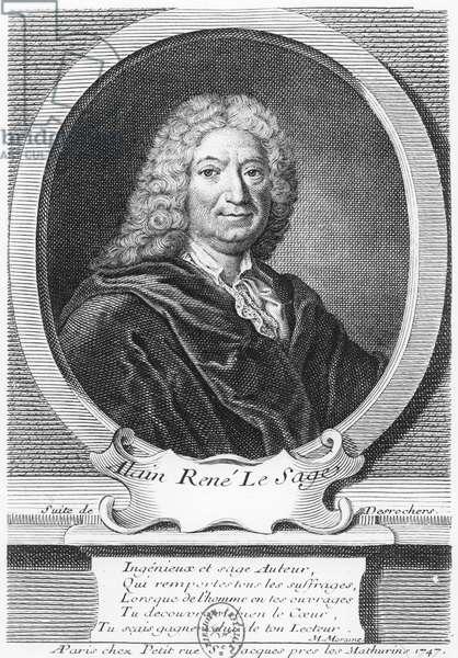 Alain René Lesage (engraving)