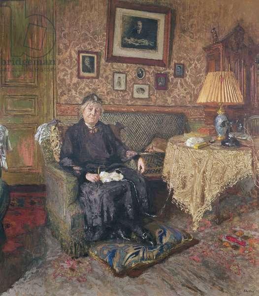 Madame Adrien Benard (1853-1935) 1928-29 (oil on canvas)