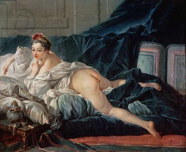 The Odalisque, 1745 (oil on canvas)