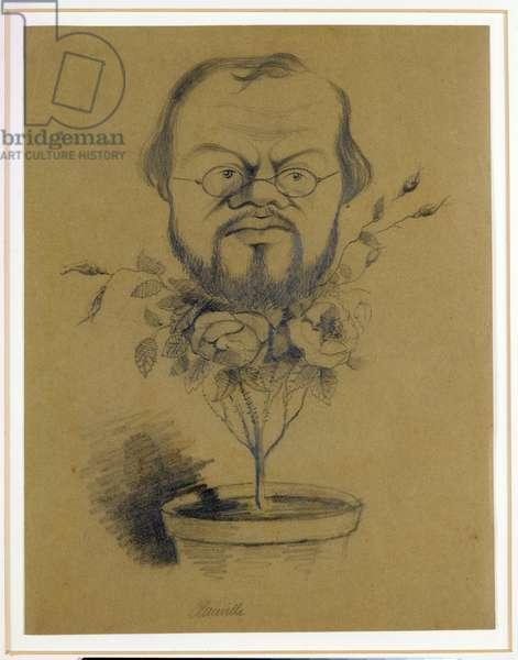 Francois Nicolaie (1811-79) 1858 (pencil on paper)