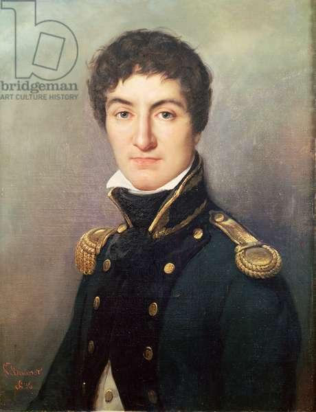 Portrait of Lazare Nicolas Marguerite Carnot (1753-1823) in 1792 (oil on canvas)
