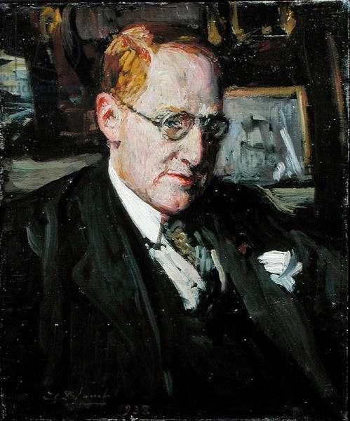 Julien Cain (1887-1974) 1938 (oil on canvas)