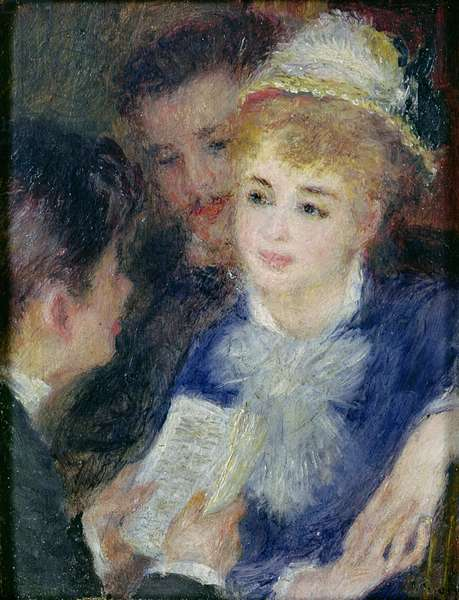 Reading the Role (oil on canvas)