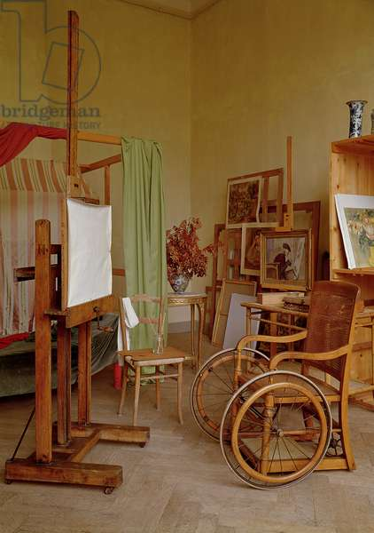 View of Renoir's studio, used from 1907 (photo)
