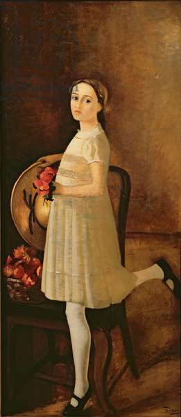 The painter's niece, c.1931 (oil on canvas) (also see 287564)
