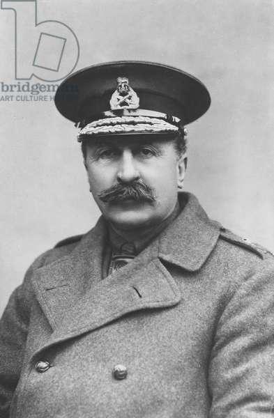 Portrait of Sir Edwin Alfred Hervey Alderson (b/w photo)