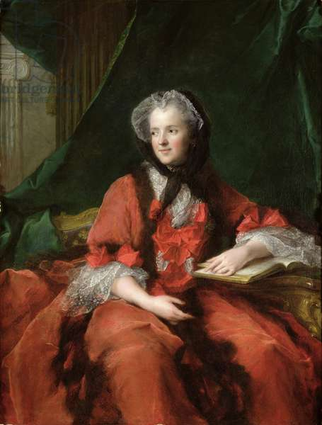 Portrait of Madame Maria Leszczynska (1703-68) 1748 (oil on canvas)