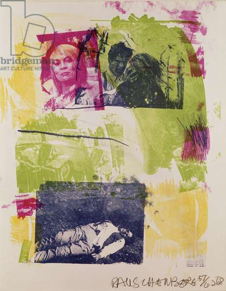Storyline I (Bonnie and Clyde) 1968 (litho from reels)