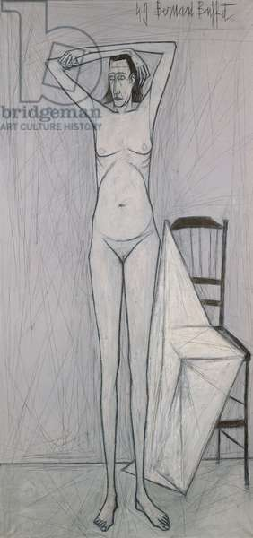 Standing Nude, 1949 (oil on canvas)
