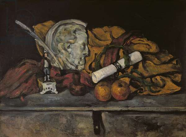 Still Life of the Artist's Accessories, 1872 (oil on canvas)
