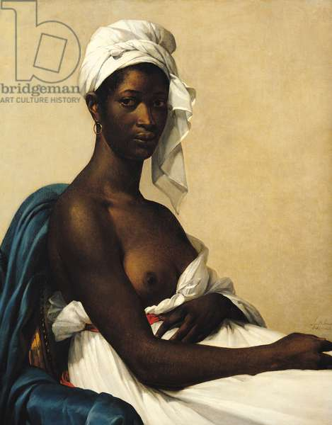 Portrait of a Negress, 1799-1800, (oil on canvas)
