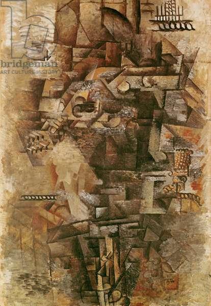 Mandolinist, 1911 (oil on canvas)