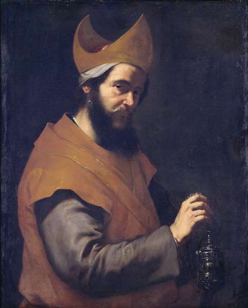 St. Zacharias, 1634 (oil on canvas)