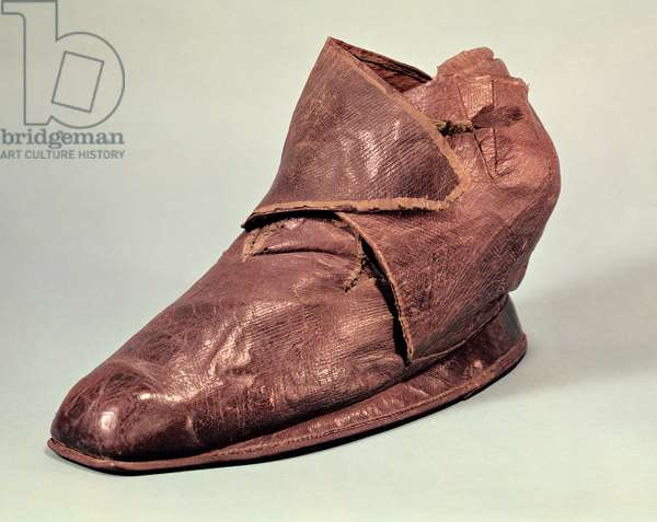 Boot belonging to Charles Maurice de Talleyrand-Perigord (1754-1838) (leather)