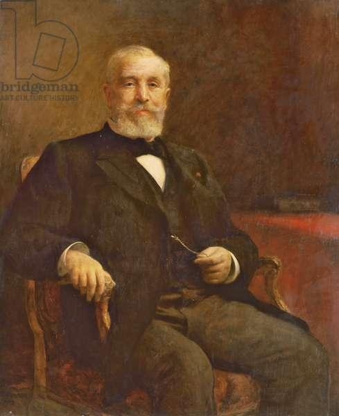 Emile Loubet (1838-1929) (oil on canvas)
