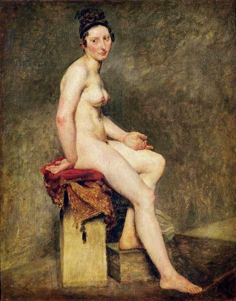 Seated Nude, Mademoiselle Rose (oil on canvas)